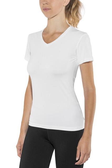 Craft W's Essential VN SS Shirt Vit